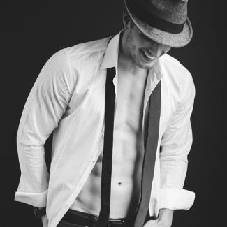 michael john agt modeling shirtless