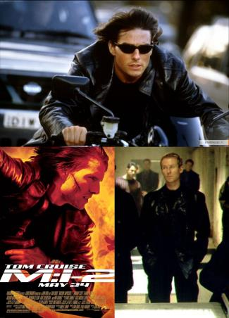 mission impossible 2 leather jacket - tom cruise as ethan hunt and richard roxburgh as hugh stamp2