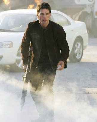 mission impossible iii leather jacket - ethan hunt