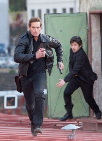 mission impossible leather jacket - ghost protocol - josh holloway