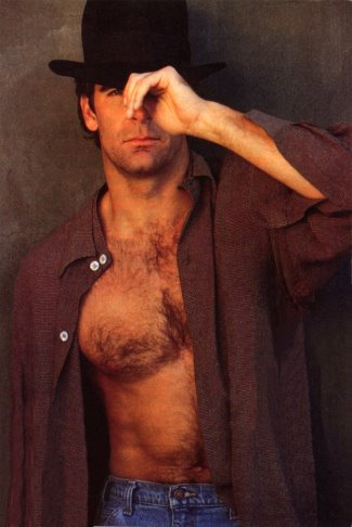 scott bakula shirtless - chest hair