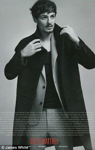 Giles Matthey long coats for men