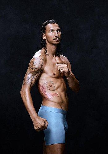 Zlatan Ibrahimovic Underwear model
