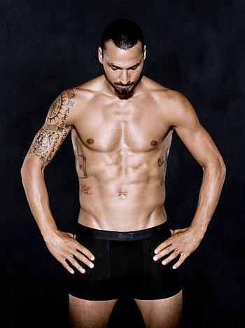 Zlatan Ibrahimovic Underwear model2