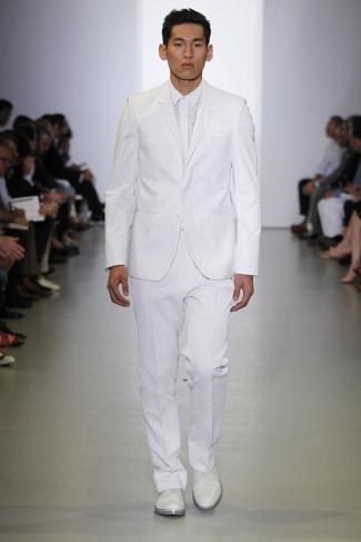 asian calvin klein model - jae yoo - runway ckmens ss 2012