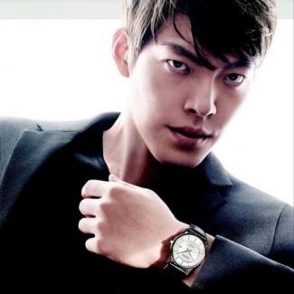 asian calvin klein model - kimwoobin - ck watch