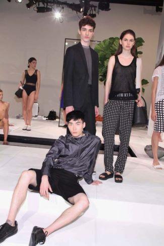 asian male calvin klein model - Noma Han for Calvin Klein White Label Spring 2015 New York