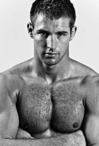 body hair men - Kevin ten Hoeve - 26 yo dutch male model judo cross fit athlete