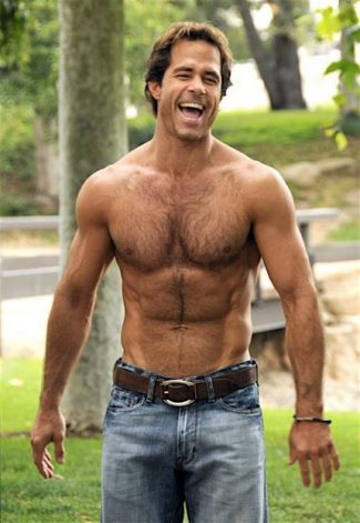 body hair men - shawn christian - dool