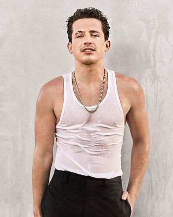 charlie puth hot in wet shirt