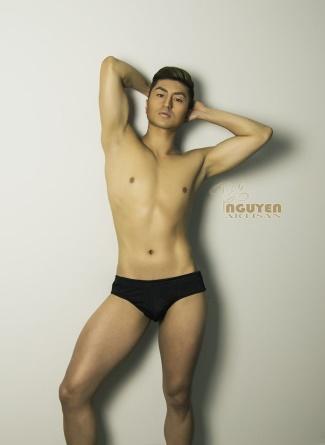 chinese male underwear model - john zheng - aussie chinese