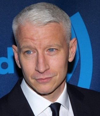 guys with blue eyes - anderson cooper