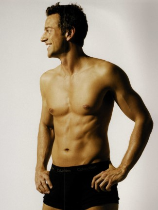 handsome greek gods as underwear models - Dimitri Lekkos
