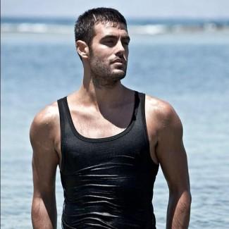 hot greek gods as underwear models - Kostas Martakis in tank top shirt