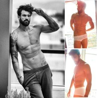hot greek men as underwear models - Dimitris Alexandrou2