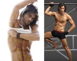 hot greek men as underwear models - theo theodoridis