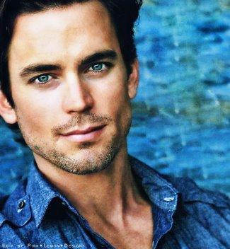 hot guys with blue eyes - matt bomer