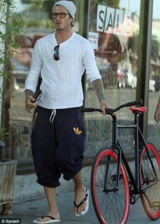 mens sweatpants - adidas - beckham