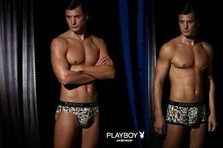 playboy underwear for men - male model