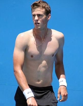 vasek pospisil shirtless hot body