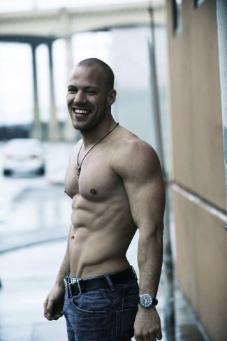 Falk Hentschel shirtless - body