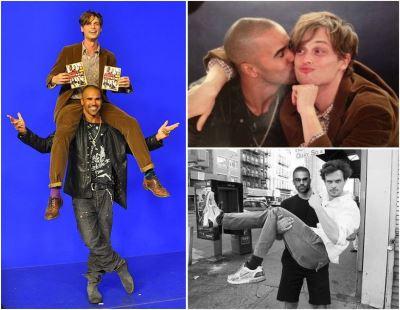 matthew gray gubler gay kiss with shemar moore