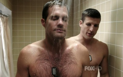 Parker-Young-Gay-or-Girlfriend-With-Geoff-Stults-in-Enlisted2
