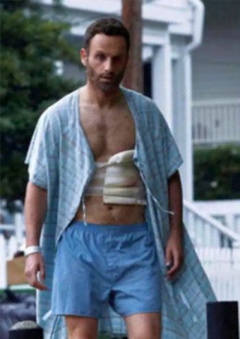 andrew lincoln underwear boxer shorts