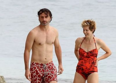 andrew lincoln wife gael anderson