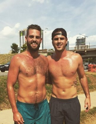 ben higgins gay or straight - with friend riley fuller2