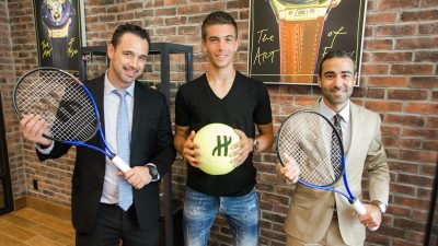 borna coric hublot watch sponsors