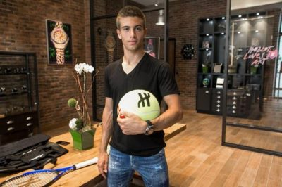 borna coric hublot watch