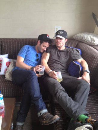 colin donnell gay with stephen amell