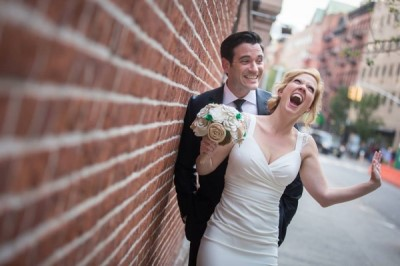 colin donnell wife - Patti Murin - wedding photos