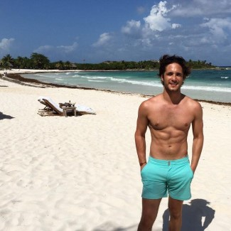 diego boneta beach shorts 2015