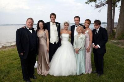 george stults married - wedding crasher