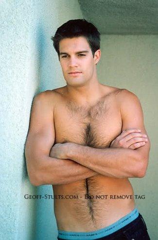 george stults shirtless hot body