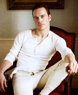 ginger male underwear model - michael fassbender in long johns