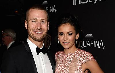 glenn powell girlfriend nina dobrev