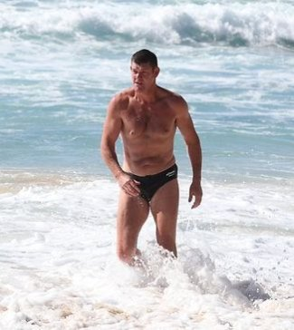 james packer speedo shirtless 2012