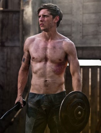 jamie bell body - the eagle