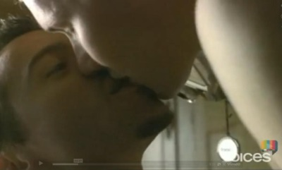 joel edgerton gay kiss damian