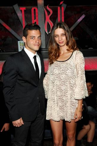 rami malek girlfriend angela sarafyan