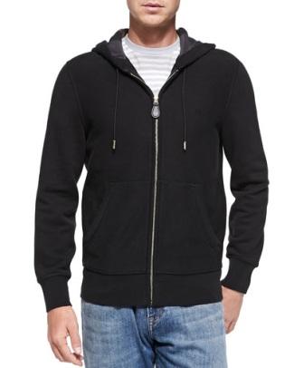 rami malek hoodie brand label - burberry brit