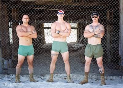 real hot marine underwear - boxer briefs