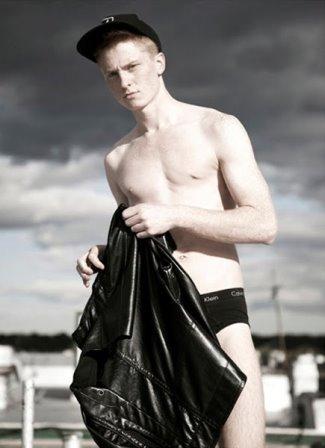 redhead mens underwear - Gustav Morstad