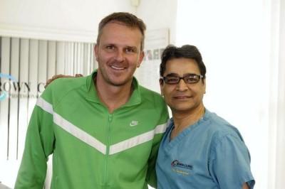 didi hamann hair transplant doctor Asim Shahmalak