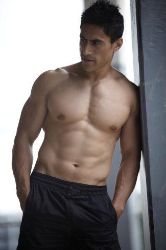 Joe Naufahu Shirtless Hot Body