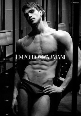 Hottest Emporio Armani Male Underwear Models - fabio mancini