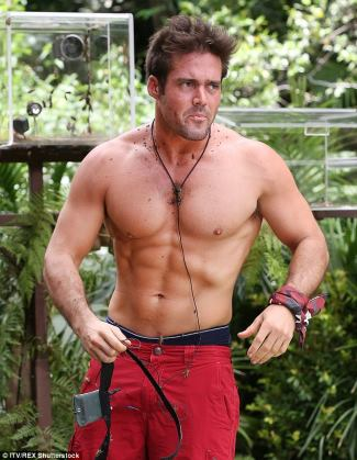 Spencer Matthews im a celebrity get me out of here